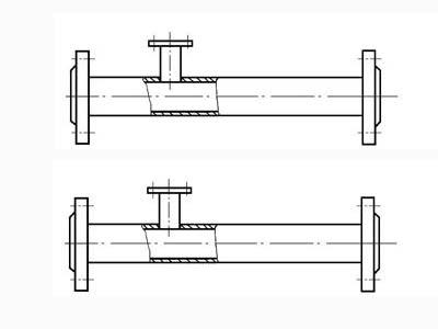 静态混合器配套SN分配器图纸