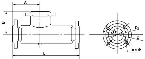汽水混合器尺寸图